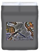 0013 Delaware And West Chippewa  Duvet Cover