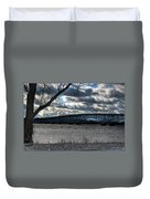 0013 Grand Island Bridge Series Duvet Cover
