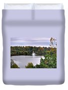 0015 Hoyt Lake Autumn 2013 Duvet Cover