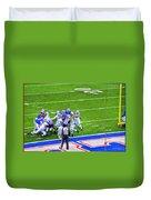 0016  Buffalo Bills Vs Jets 30dec12 Duvet Cover