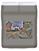 0017 Lions At The Square  Duvet Cover