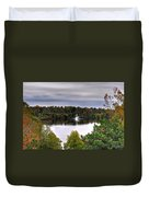 0018 Hoyt Lake Autumn 2013 Duvet Cover