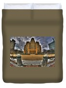 0019 City Hall From Within The Square Duvet Cover