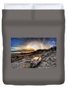 002 After The Ice Melts Erie Basin Marina Series Duvet Cover