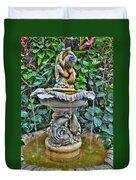 002 Fountain Buffalo Botanical Gardens Series Duvet Cover
