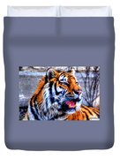 002 Siberian Tiger Duvet Cover