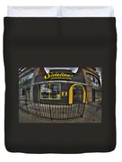 002 Sidelines Sports Bar And Grill Duvet Cover
