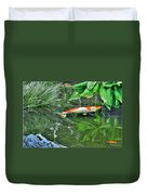 002 Within The Rain Forest Buffalo Botanical Gardens Series Duvet Cover