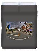 0021 Starbucks Or Spot... Duvet Cover