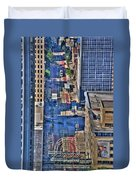 0022 Visual Highs Of The Queen City Duvet Cover