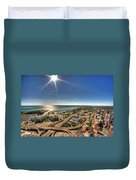 0023 Visual Highs Of The Queen City Duvet Cover