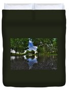 003 After The Rain At Hoyt Lake Duvet Cover