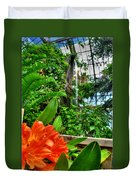 003 Falling Waters Buffalo Botanical Gardens Series Duvet Cover