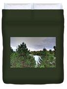 003 Hoyt Lake Autumn 2013 Duvet Cover