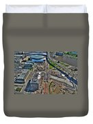 003 Visual Highs Of The Queen City Duvet Cover