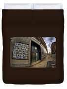 0034 Throwback Shopping Center Of Am And As Duvet Cover