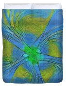 004 Abstract Duvet Cover