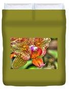 004 Orchid Summer Show Buffalo Botanical Gardens Series Duvet Cover