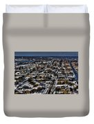 0042 After The Nov 2014 Storm Buffalo Ny Duvet Cover