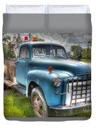 0042 Old Blue 2 Duvet Cover