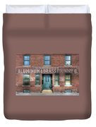 0044 Foundry Building Duvet Cover