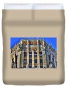 0049 Art Deco City Hall Duvet Cover
