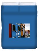 0049 Burano Colors 4 Duvet Cover