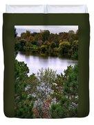 005 Hoyt Lake Autumn 2013 Duvet Cover
