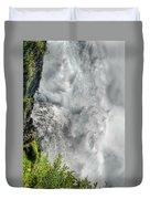 005 Niagara Falls Misty Blue Series Duvet Cover