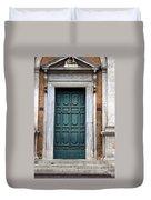 0053 Roman Door 2 Duvet Cover