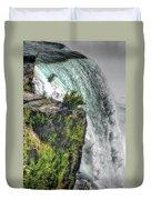 006 Niagara Falls Misty Blue Series Duvet Cover
