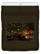 007 Christmas Light Show At Roswell Series Duvet Cover