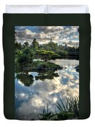 007 Delaware Park Japanese Garden Mirror Lake Series Duvet Cover