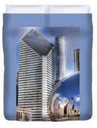0077 Millennium Park Chicago Duvet Cover