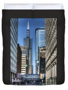 0078 Willis Tower Chicago Duvet Cover