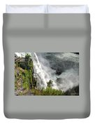 008 Niagara Falls Misty Blue Series Duvet Cover