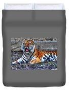 008 Siberian Tiger Duvet Cover