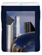 0081 The Bean And Trump Duvet Cover