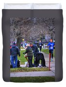 009 Bloody Marys At The Turkey Trot 2014 Duvet Cover