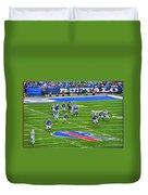 009 Buffalo Bills Vs Jets 30dec12 Duvet Cover