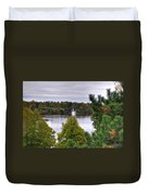 009 Hoyt Lake Autumn 2013 Duvet Cover