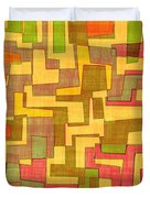 0101 Abstract Thought Duvet Cover