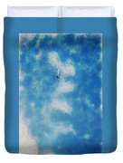 0107 - Air Show - Traveling Pigments Hp Duvet Cover