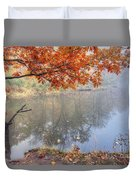 0132 Autumn At Starved Rock Duvet Cover