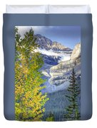0141 Fall Colors On Icefield Parkway Duvet Cover