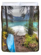 0162 Emerald Lake Duvet Cover