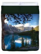0164 Moraine Lake Duvet Cover