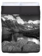 0166 Moraine Lake Duvet Cover