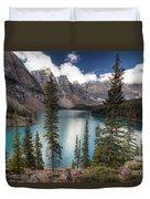 0184 Moraine Lake Duvet Cover