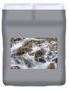 0190 Glacial Runoff 2 Duvet Cover